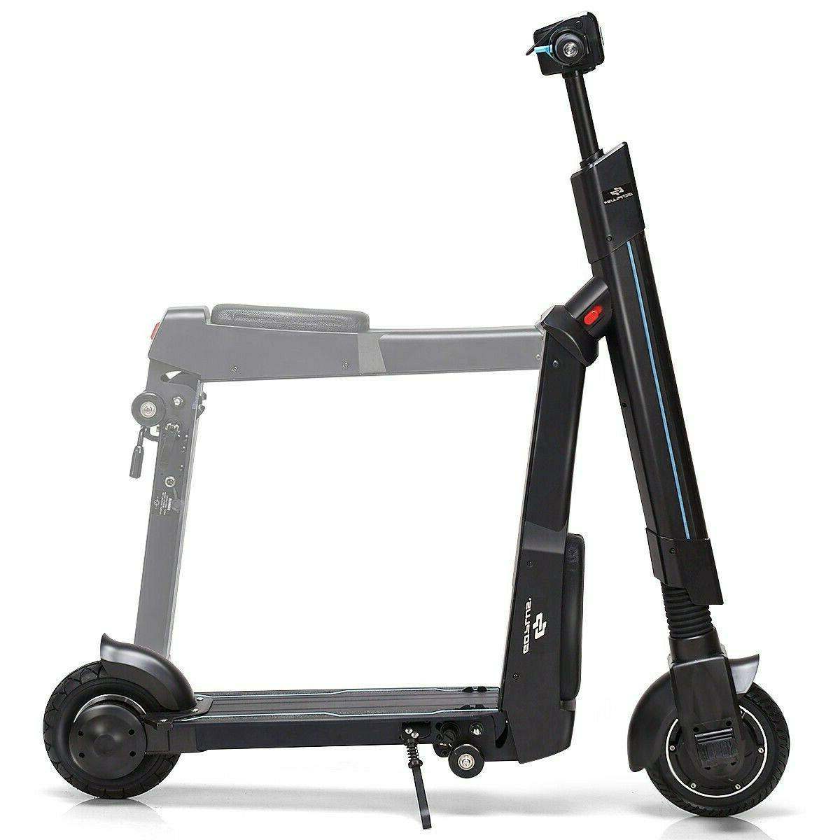 Electric Scooter Adults Foldable Scooters Bluetooth Headligh