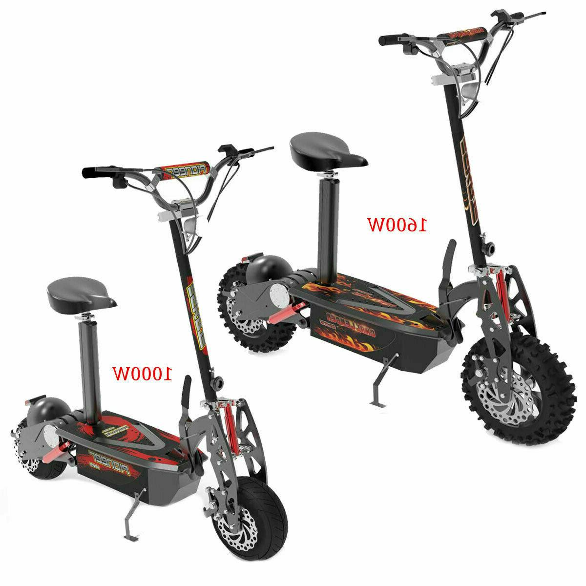 electric scooter brushless 1600w or 1000w 36v
