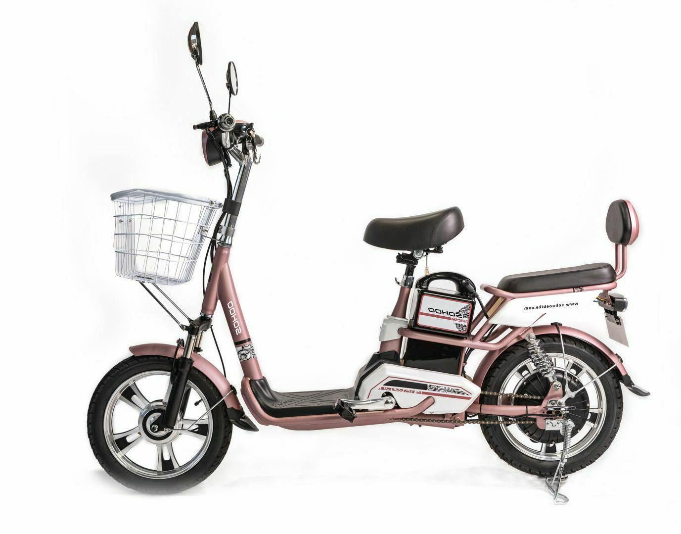 SOHOO Scooter City E-Bike E-Scooter