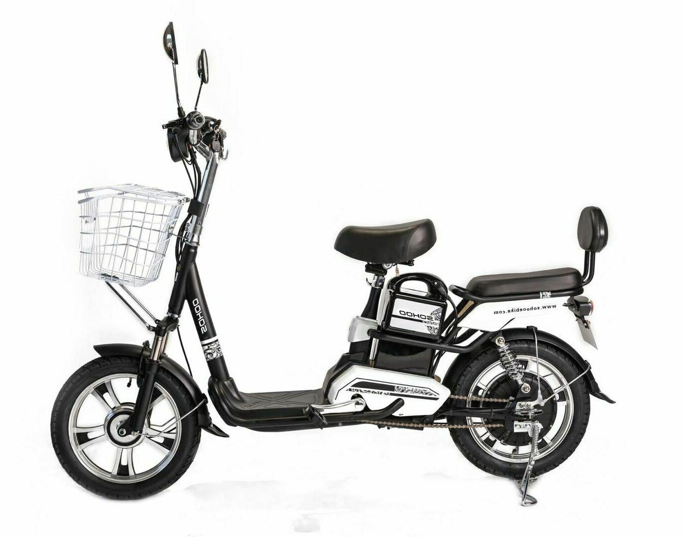 electric scooter city ebike 48v500w12ah lithium battery