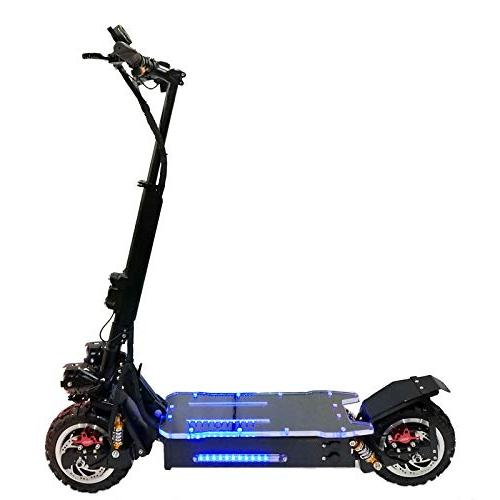 electric scooter dual motor world