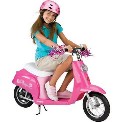 electric scooter for girls battery powered motorized