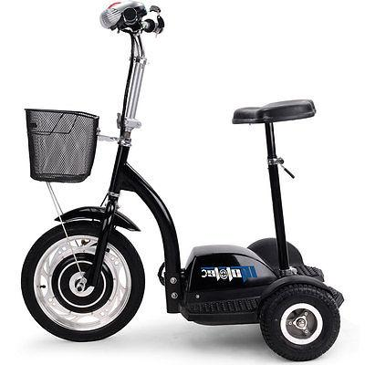 Electric Scooter MotoTec Trike Seat 2015