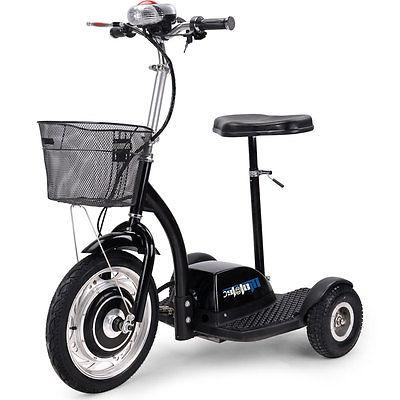 Electric Mobility Vehicle Scooter MotoTec Trike 350 Seat 36v Motor 2015