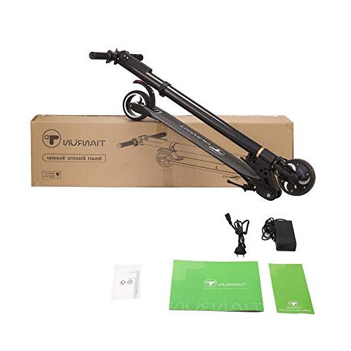 TianRun Scooter Mph & Miles 8.8Ah Foldable Electric Bicycle Adult