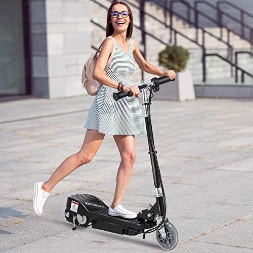 Costzon Electric Scooter, 24 Volt Teens with Rechargeable