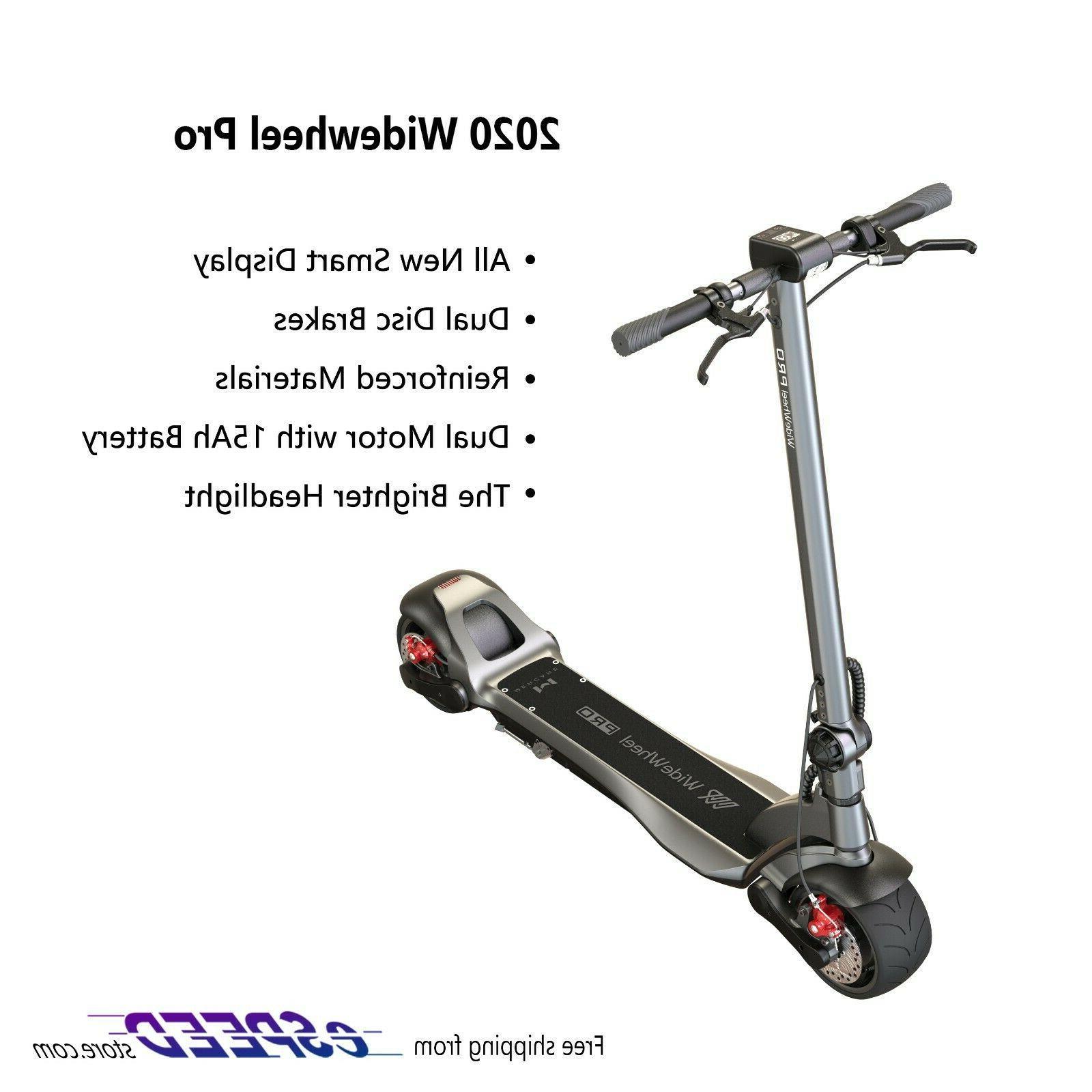 E-Scooter Folding WideWheel 500W Long Range  Kick Electric S