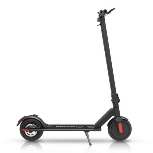 MEGAWHEELS S5 Electric Wheelers Black Adult Kick Scooter Commuter Scooter
