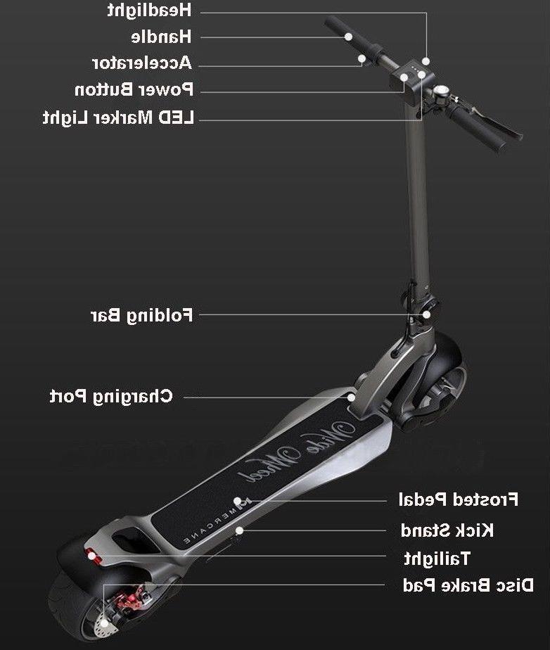 2019/2020 Scooter Widewheel Motor Wide Wheel