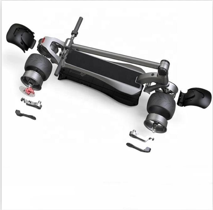 """Electric Scooter WideWheel Dual Motor with 4"""" tires"""