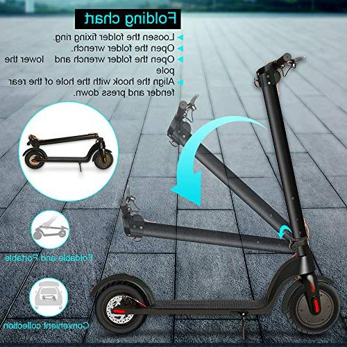 Electric of Electric Scooter Portable 48 Long for 3 Charging Time 250W