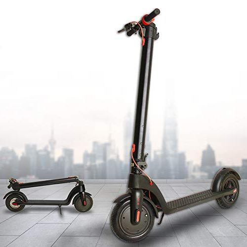 electric scooters range riding 8