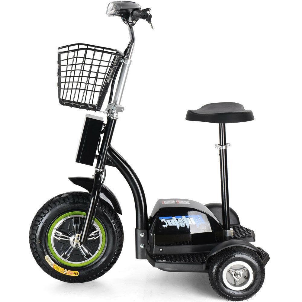 MotoTec Electric Trike 48v 500w Personal Transporter - MT-TR