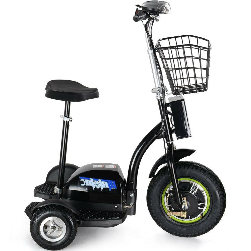 MotoTec Electric Trike 48v 500w Personal Transporter MT-TRK-500
