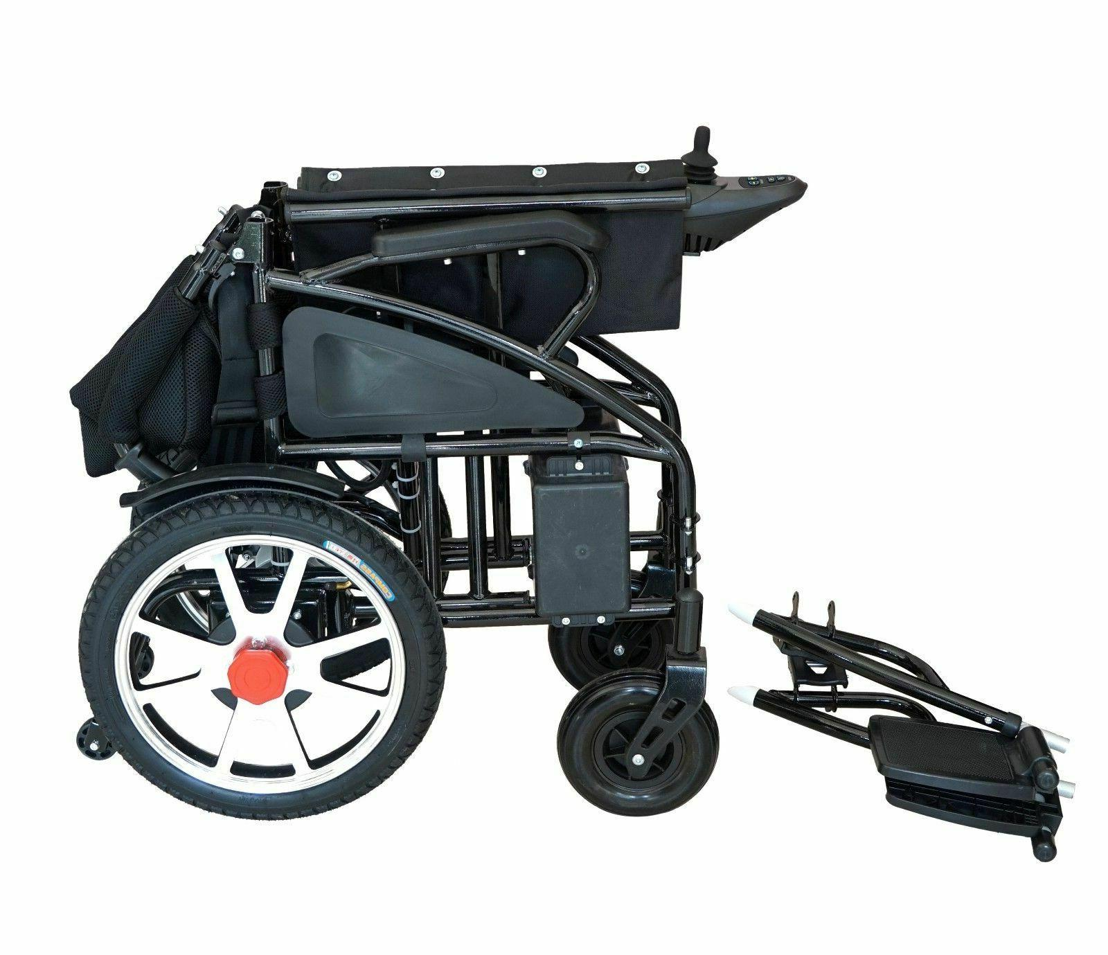 Electric Wheelchair Motorized Wheelchairs Folds Duty