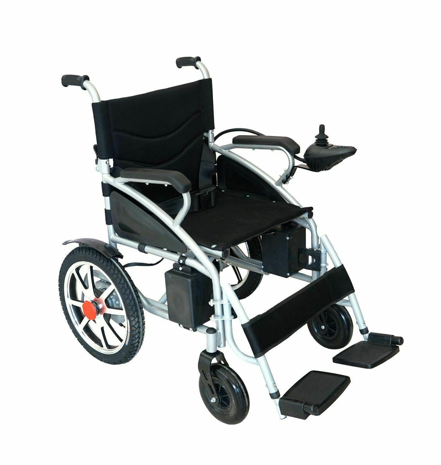 Electric Wheelchair Wheelchairs Folds Duty