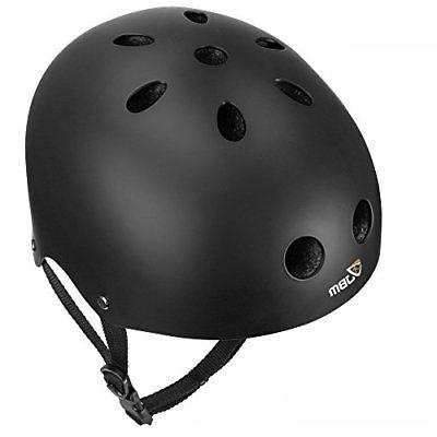 eps foam skateboard helmet black