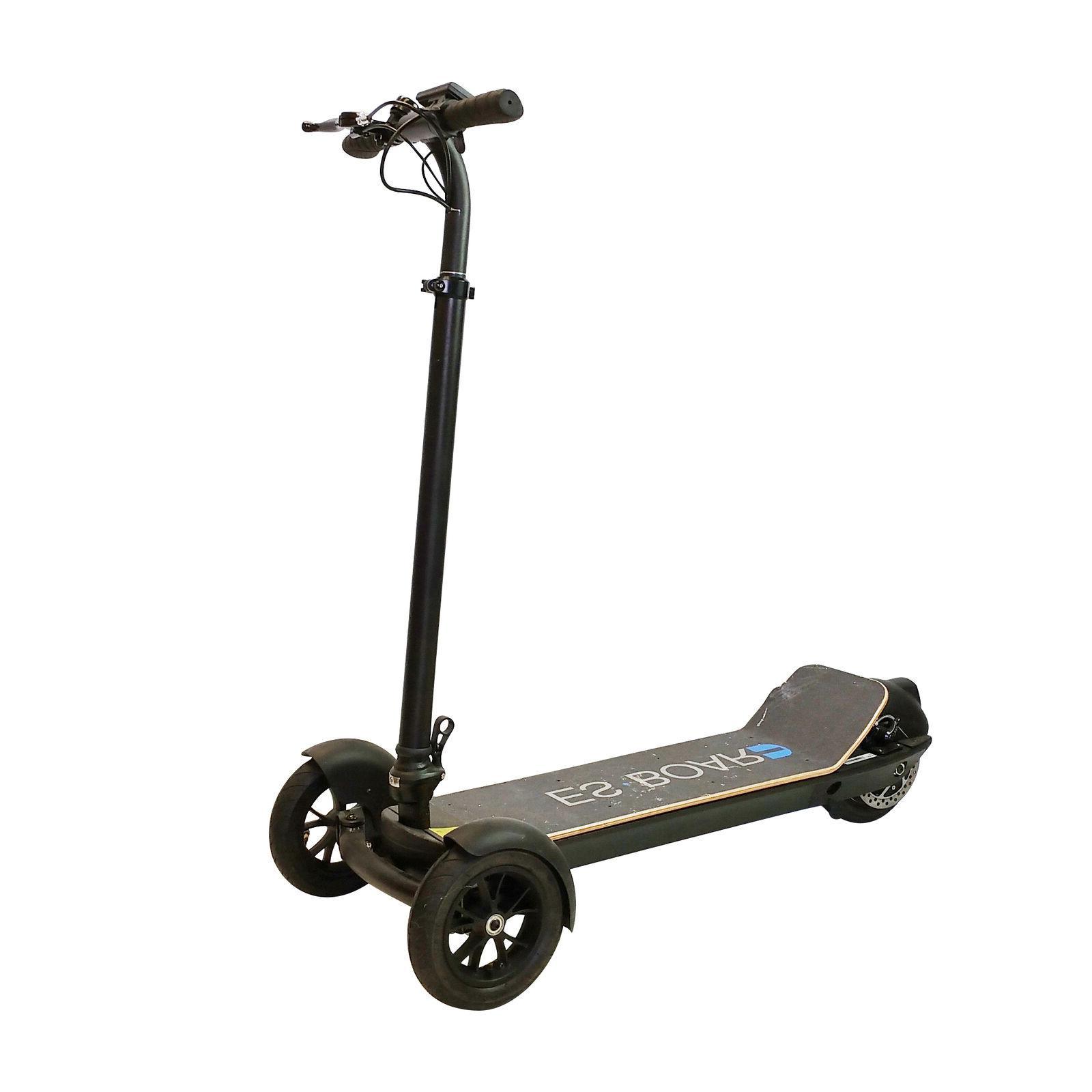 es board electric 3 wheel scooter 450w