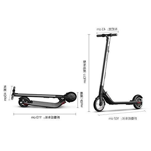 Segway Ninebot High Performance Foldable Scooter - 28 Mile Range, 18.6 mph Control, App