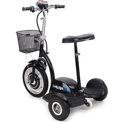 Electric Mobility Vehicle Scooter MotoTec Trike 350 Watt Sea