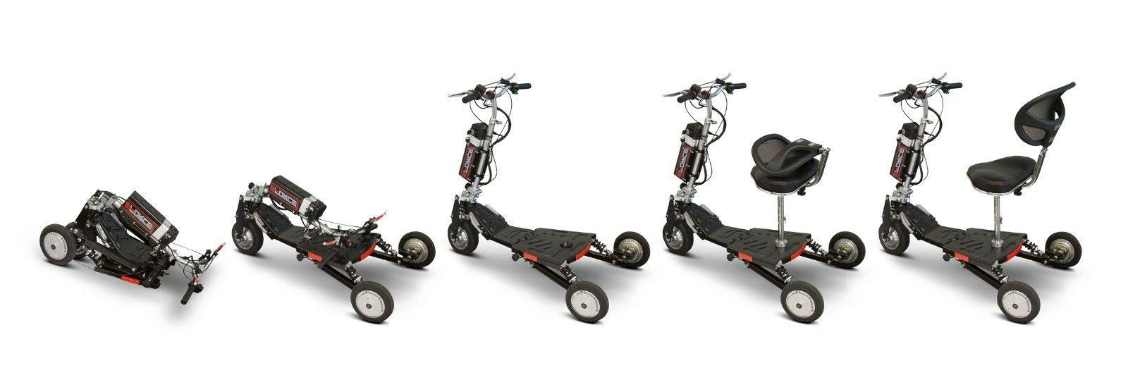 EWheels Eforce1 Folding Travel Scooter, 325 lb.