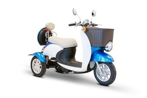 ew 11 electric moped three wheel scooter