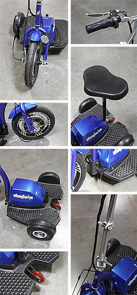 eWheels EW-18 Stand-N-Ride Mobility Scooter 300lbs -