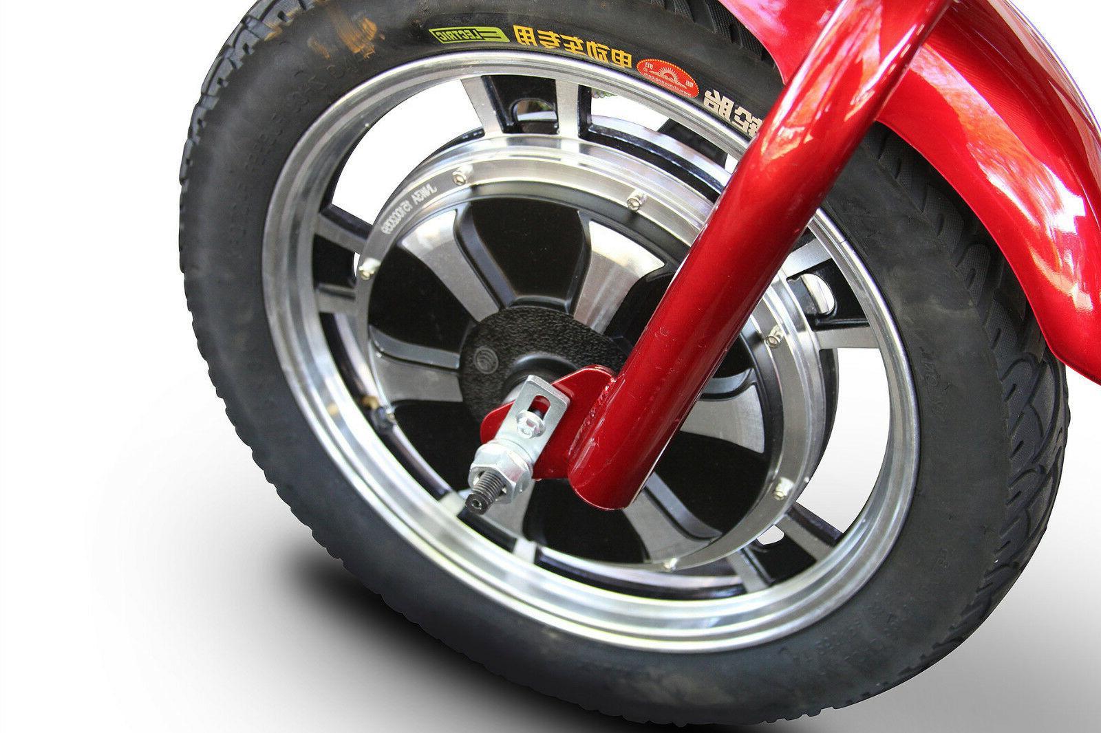 eWheels Stand-N-Ride Mobility - emission