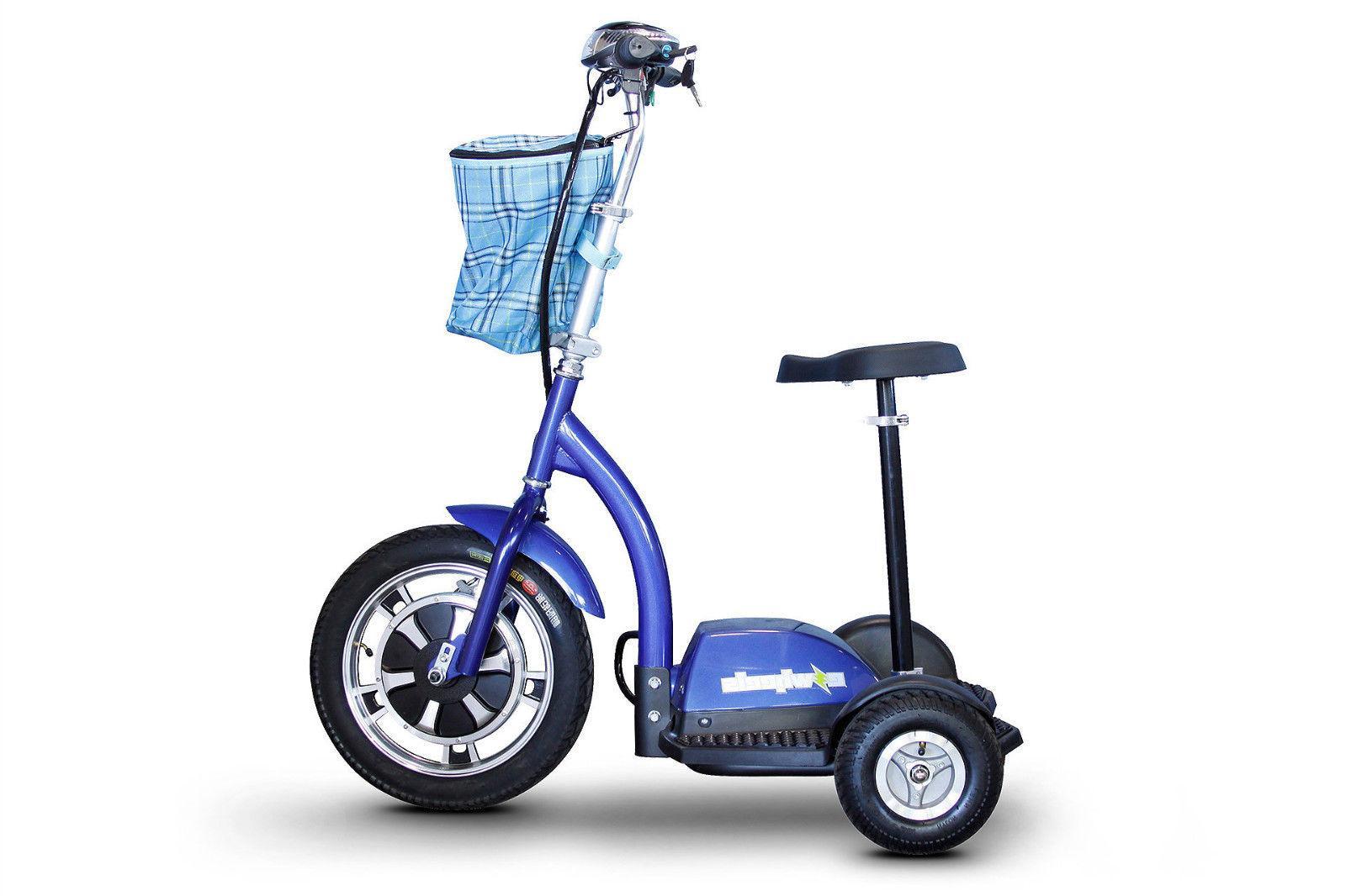 eWheels EW-18 Stand-N-Ride Mobility - emission