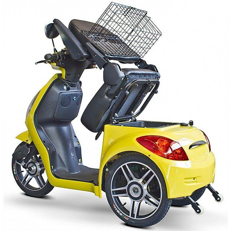eWheels EW-36 Mobility Scooter Range miles