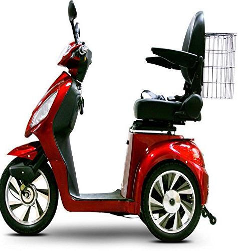 EW 36 Red. Up to 18Mph and Miles Fully Assembled. Mobility Scooter.