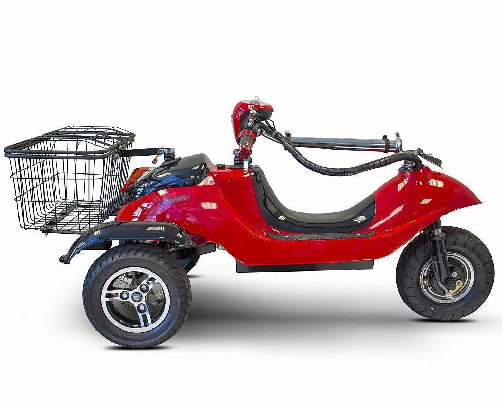 EWheels EW-19 SPORTY Mobility Scooter Accessory Package
