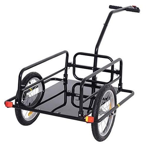 Aosom Bike Trailer Cart