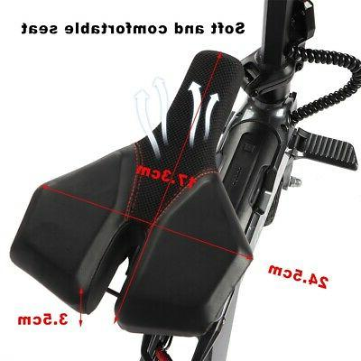 110-240V Adults Electric Bicycle Adjustable Foldable
