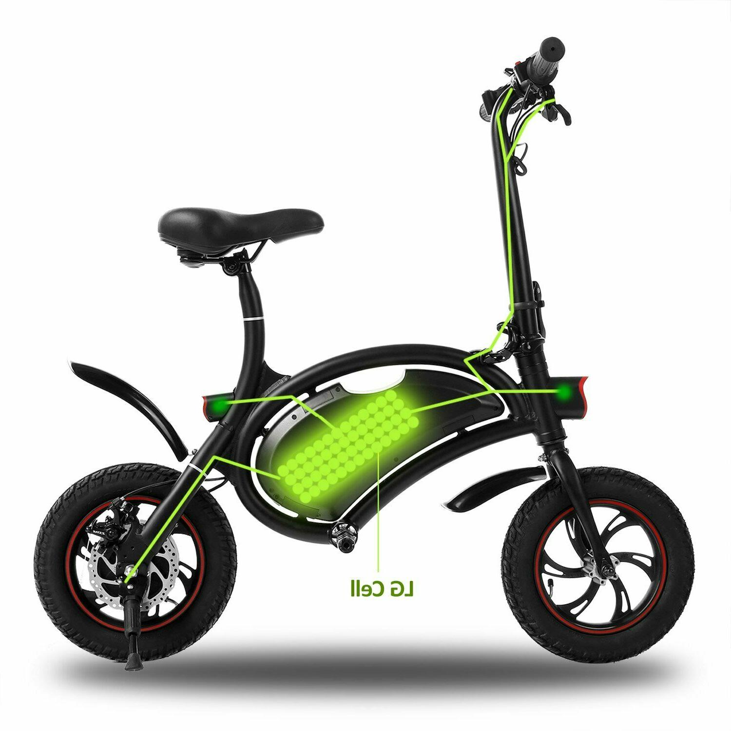 ANCHEER 350W Ebike with 12 Mile Range,