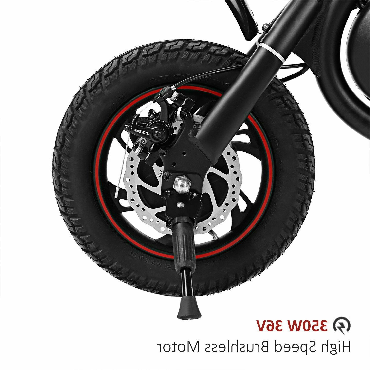 ANCHEER Folding Electric Bicycle/E-Bike/Scooter 350W with Mile