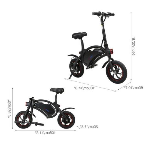 "Electric Folding Bike 250W 14"" US"
