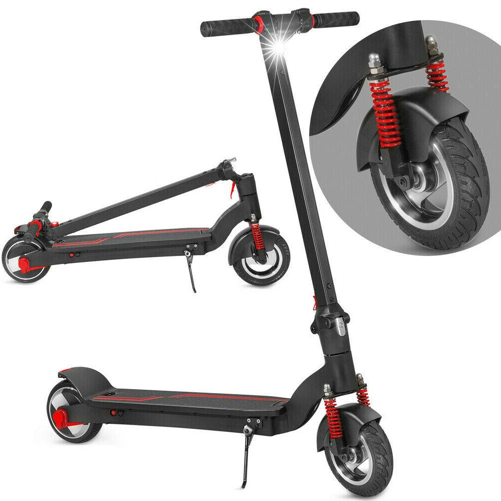 folding electric kick scooter 8 front wheel