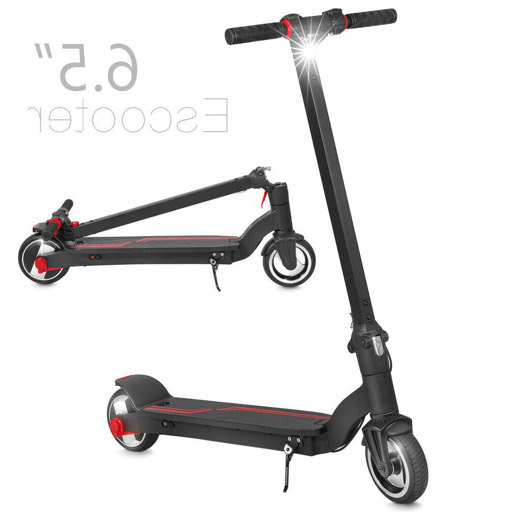 folding electric kick scooter w 6 5