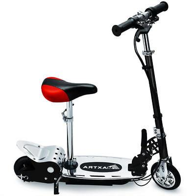 Electric Scooter Adjustable Kids Rechargeable Motorized Bike