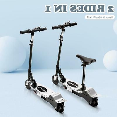 folding electric kids motorized ride on scooter