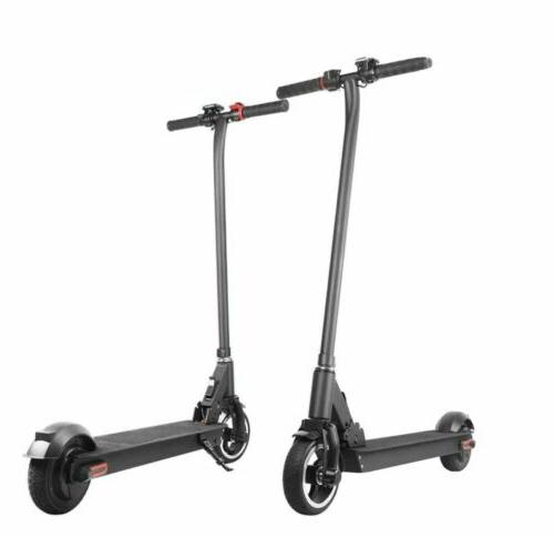 Folding Electric Scooter Aluminum Black Kick City E-Scooter