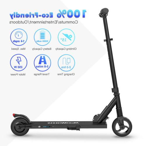 MEGAWHEELS SCOOTER 250W BLACK CITY COMMUTING