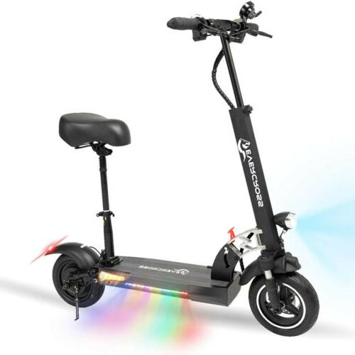 Electric Scooter 28MPH 10AH Folding E-Scooter 800w Motor For