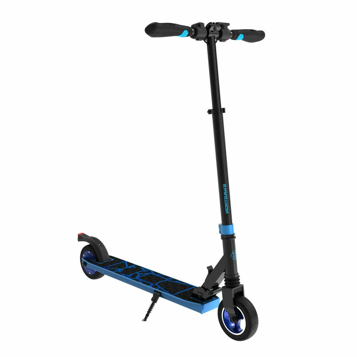 Swagtron Folding Electric Scooter for Teens Lightweight Crui