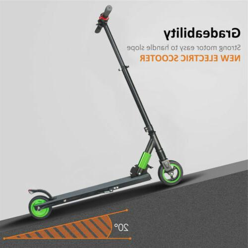 Folding Electric Scooter Stunt Mopeds 250W Bearing Skateboard