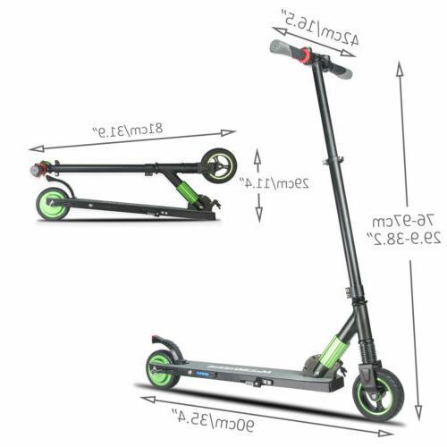 Megawheels 250W 23km/h Folding Electric Motor Kick Green