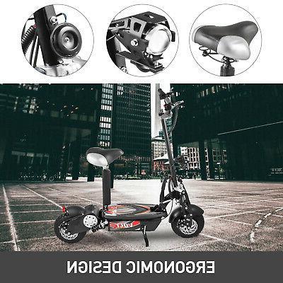 Folding Electric Large Wheels, Powerful 1000w Motor