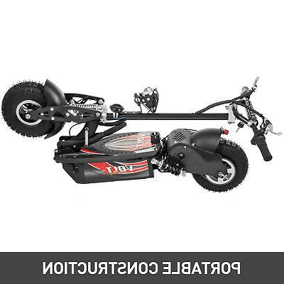 Folding Electric Large Wheels, 1000w Motor Black