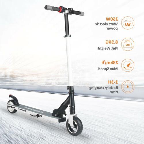 MegaWheels Folding Kick Skateboard E-Scooter 200W Motor